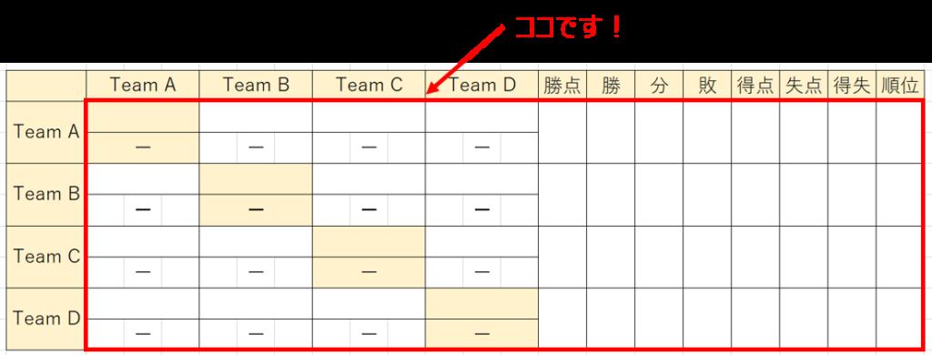 対戦表の作り方-18